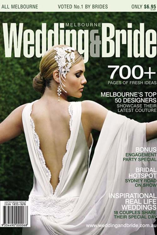 Front Cover - Wedding and Bride Magazine