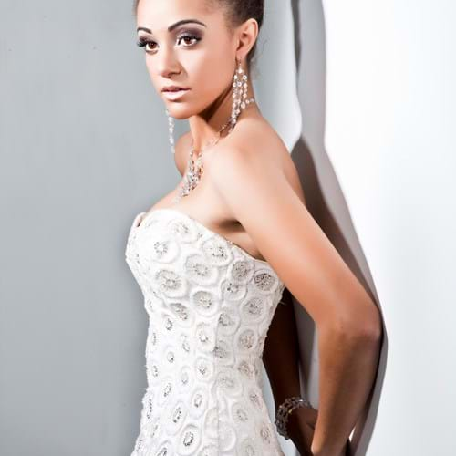 Andrea Agosta Designer Jewellery worn by Victorian State Finalist - Miss Universe