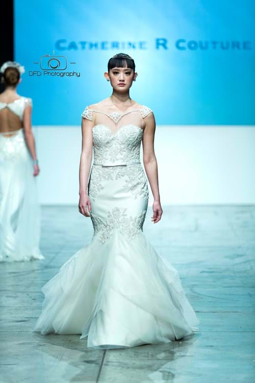 Andrea Agosta Designer Jewellery on the runway at 2016 Australian Bridal Fashion Week