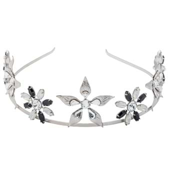 Floral crystal headpiece perfect for a day at the races